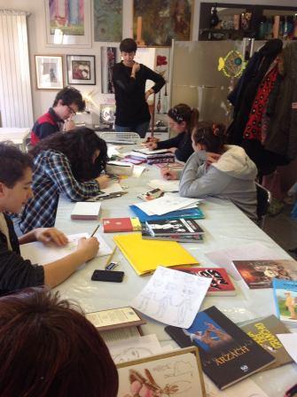 Corso fumetto e illustrazione presso Voli d'Arte