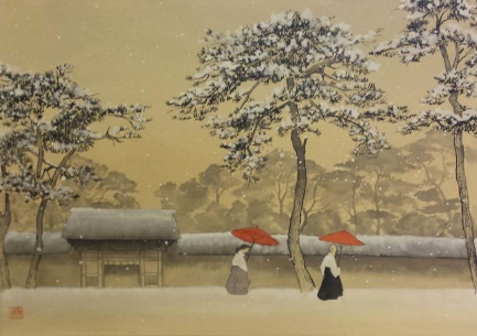 """Quadro dalla foto di Werner Bichof """"Viaggio in Giappone"""""""